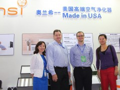Oransi GM - Helen Wan, US Embassy - Jay Biggs, Oransi CEO - Peter Mann, US Embassy - Jiangyao Zhang